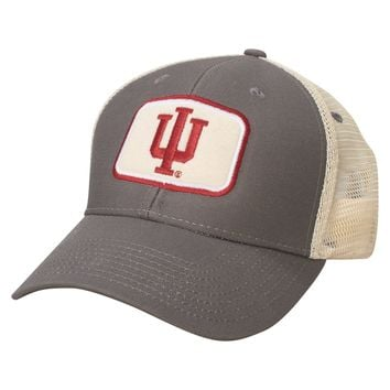 Indiana Hoosiers Farmers Mesh Adjustable Hat