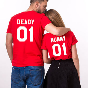 Halloween shirts for moms, Mom halloween shirt, Mummy Daddy Halloween shirts, Halloween shirt mom, Couple halloween shirts, UNISEX