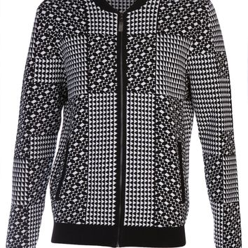 Versace Collection Geometric Pattern Jacket