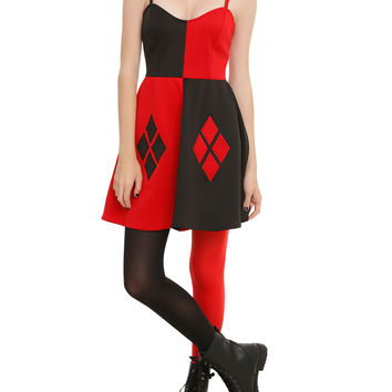 DC Comics Harley Quinn Costume Dress