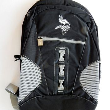 Minnesota Vikings NFL Embroidered Logo Laptop Tablet Backpack Book Bag Tote 5454