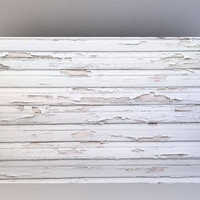 Distressed White Wood - Photography Backdrop