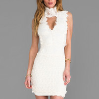 Nightcap Florence Lace Dress in Ivory