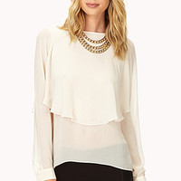 Dreamy Tiered Chiffon Blouse