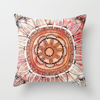 Inner Peace Throw Pillow by Rskinner1122