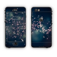 The Dark & Glowing Sparks Apple iPhone 6 Plus LifeProof Nuud Case Skin Set