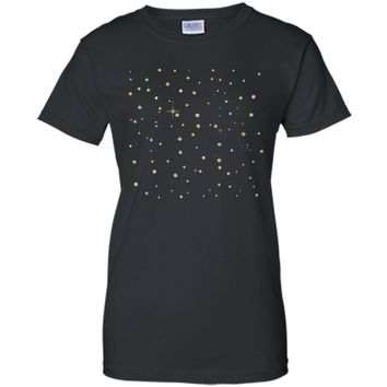 Amiable Gold Sparkles Background 2017 T Shirt