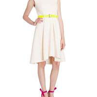 Full skirt dress - Cream | Dresses | Ted Baker