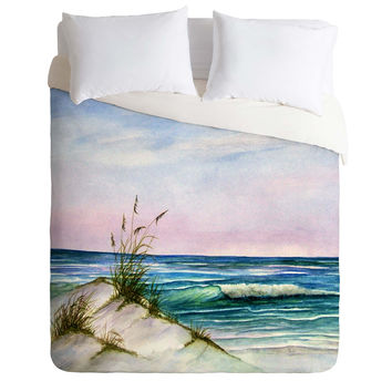 Rosie Brown Okaloosa Beach Duvet Cover