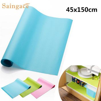 Kitchen Accessories Dampproof Cushion Anti Oil Antislip Chest Wardrobe Drawer Mat Pad Shelf Liner For Cabinet Ambry Furniture