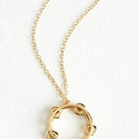Quirky Jingle All the Yay Necklace by ModCloth