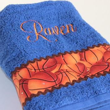 Custom Basketball Towel, Sport, Team Spirit Towel