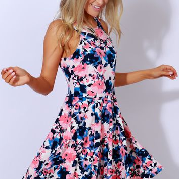 Garden Secrets Floral Dress Multi