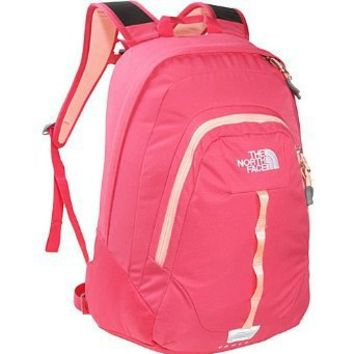 The North Face Women's Vault Teaberry Pink Ripstop Backpack Bookbag Size One Size