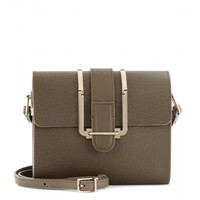 chloé - bronte small textured-leather shoulder bag