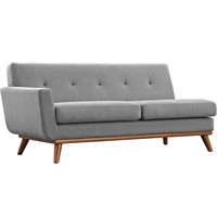 Engage Left-Arm Loveseat Expectation Gray