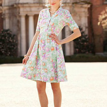 Shabby Apple Snapdragon Dress