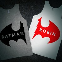 Batman & Robin (Besties Shirts) |  lookhuman.com