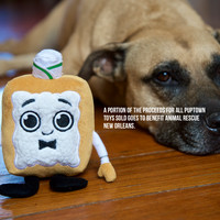 PupTown Dog Toys - Benji the Beignet