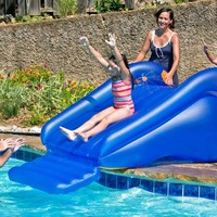 Children's Inflatable Pool Slide @ Sharper Image