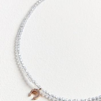 Crystallized Beaded Charm Necklace | Urban Outfitters