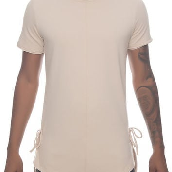 The Lector Tee in Tan