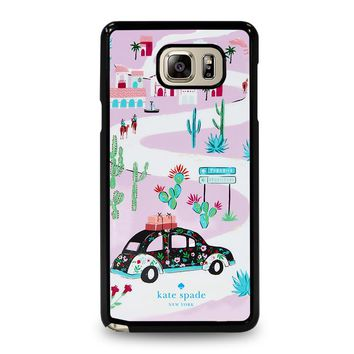 KATE SPADE NEW YORK ROAD TRIP Samsung Galaxy Note 5 Case Cover