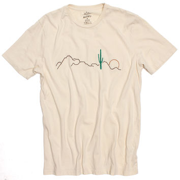 Altru Apparel Desert Cactus Embroidered T-shirt (S,L & 2XL Only)