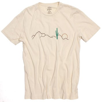 Altru Apparel Desert Cactus Embroidered T-shirt