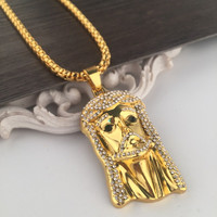 Shiny New Arrival Stylish Jewelry Gift Hot Sale Fashion Hip-hop Club Necklace [6542721155]
