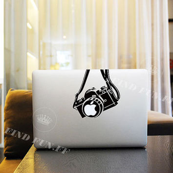 Camera Decal Macbook Air Sticker Macbook Air Decal Macbook Pro Decal 1128 佳能