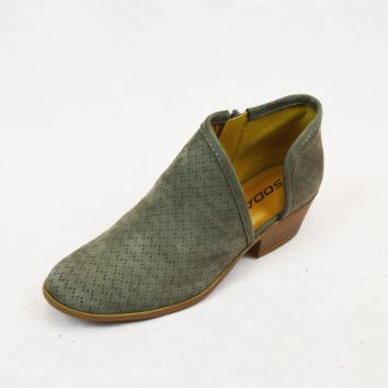 risk taker booties - charcoal