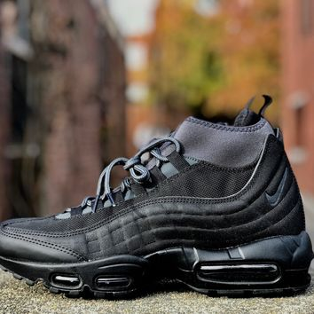 KUYOU Nike Air Max 95 Sneakerboot Black Anthracite 806809-001