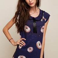 Space Donuts - LARGE /XL ONLY, Drop Dead Clothing
