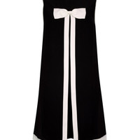 Bow detail dress - Black | Dresses | Ted Baker
