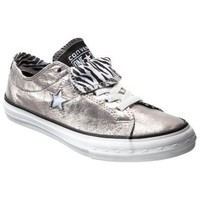 Women's Converse® One Star® Oxford - Silver/White