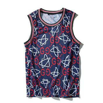 GUCCI Woman Men Fashion Loose Vest Tank Top