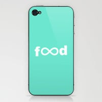 Infinite Food iPhone & iPod Skin by Matthew DePalo | Society6