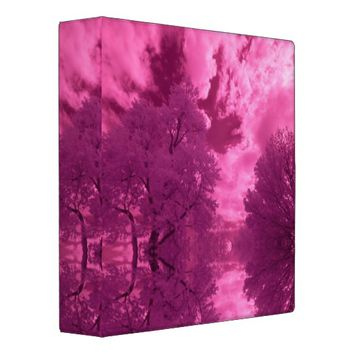 Pinkish Hues Infrared Cloud Binder