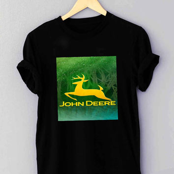 John Deere Logo - T Shirt for man shirt, woman shirt XS / S / M / L / XL / 2XL / 3XL *01*