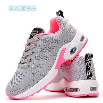 Women's Air Cushioned Breathable Tennis Shoes