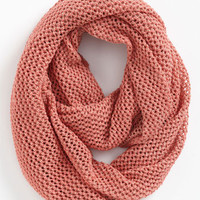 Trouvé Textural Knit Infinity Scarf | Nordstrom
