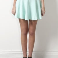Brooklyn Karma Flirtacious Skirt - Mint
