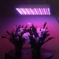 LEDwholesalers 2501MX Blue/Red 225 LED 13.8 Watt Square Grow Light Panel 110 Volt (Discontinued by Manufacturer)