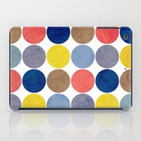 Round and Round iPad Case by Miss L In Art