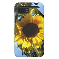 Sunny Sunflower HTC Vivid  case *personalize* from Zazzle.com