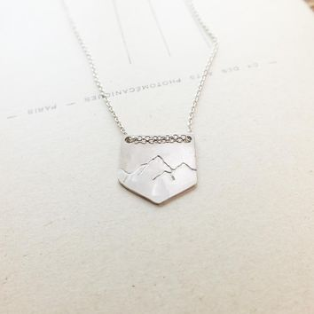 Pennant Mountains Necklace