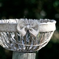 Handmade Twine Bowl from A Tad Bit Crafty
