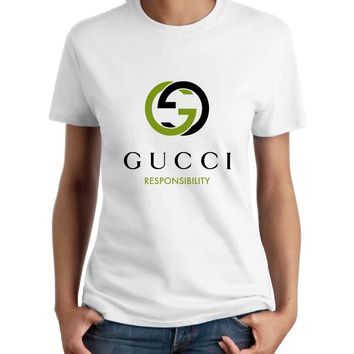 Gucci Logo Woman T-Shirt