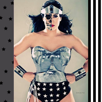 Dark / Evil Wonder Woman Full Costume WITH CAPE Hurry...